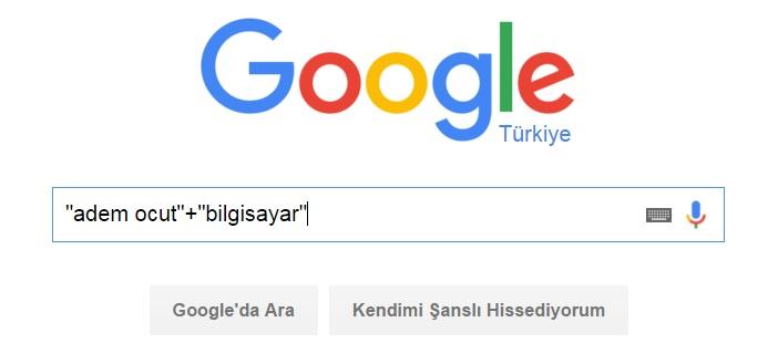 google search arama