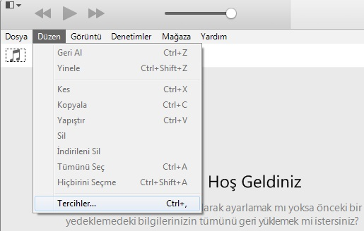 iphone itunes yedekleme silme