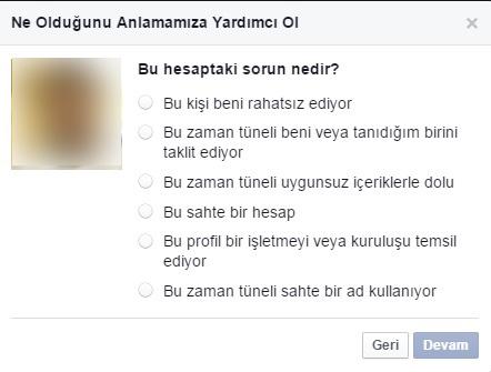 facebook sahte hesap kapatma1