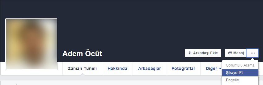 facebook sahte hesap