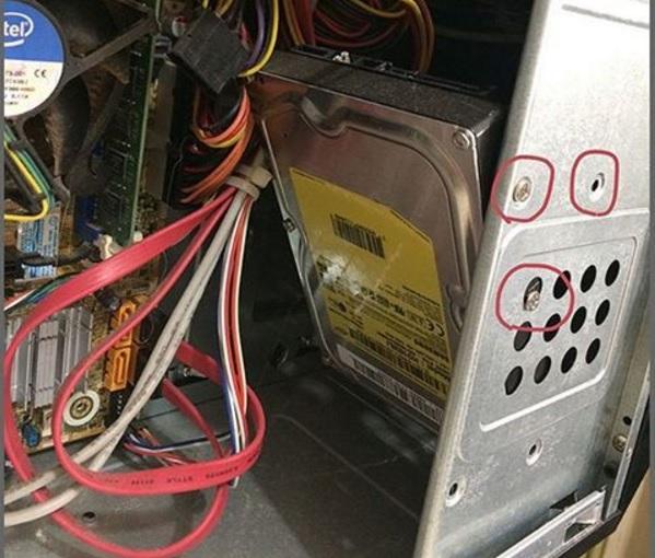 harddisk montajı