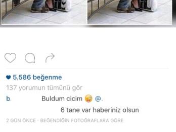 instagram beğendiğin fotoğraflara göre