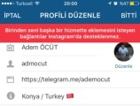 instagram'da telegram ve snapchat linkleri neden yok?