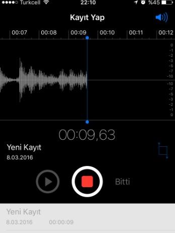 İphone Sesli Notlar Ne İşe Yarar? Nasıl Çalışır?