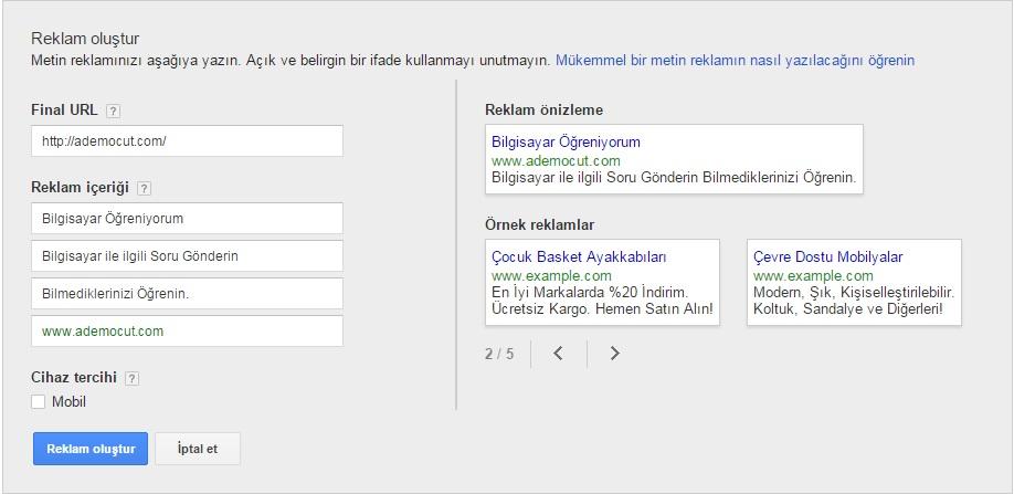 google reklam oluşturma-5