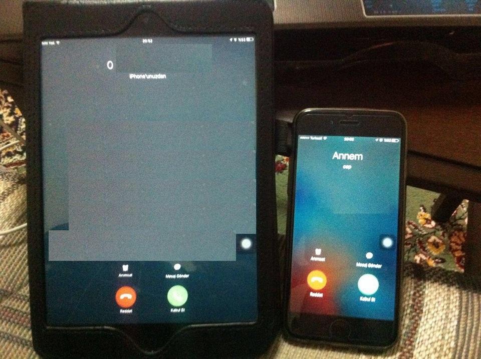 iphone-ipad aramalar