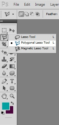 photoshop polygonal lasso tool