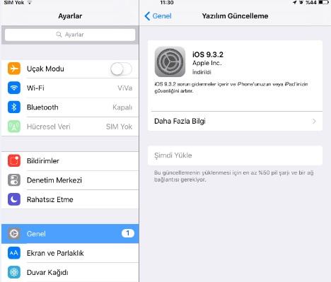 iPhone 7 yazılım güncellemesi nasıl yapılır?