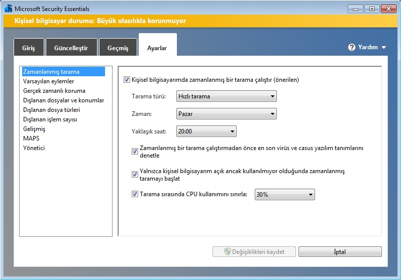 microsoft-security-essential-kullanim-klavuzu