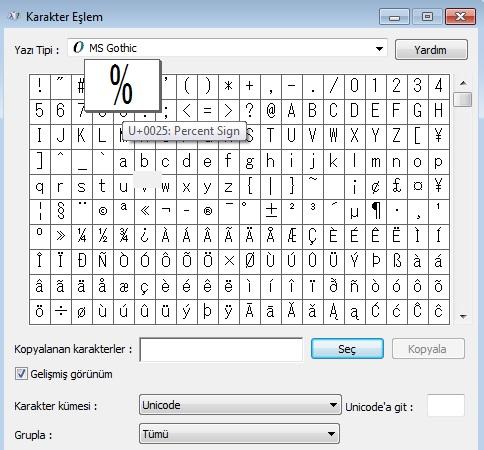 klavyede-yuzde-isareti-nasil-yapilir