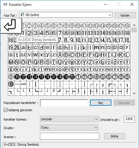 bilgisayar-klavyesinde-donus-sembolu-nasil-yapilir
