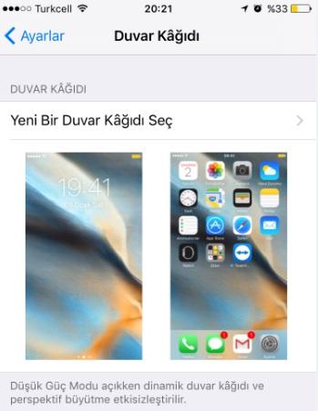 Iphone Ipad Arka Plan Resmi Nasıl Değişir Sistem Ve Ağ