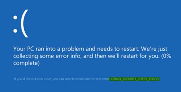kernel-security-check-failure-sorunu-nasil-cozulur
