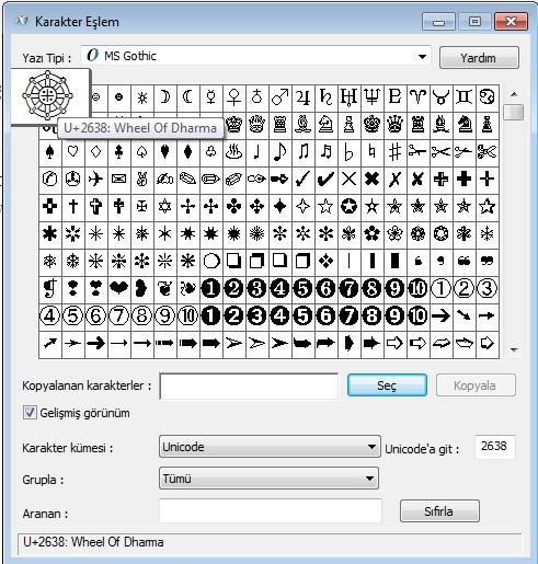 dharma-tekerlegi-nasil-yapilir-klavyede