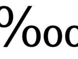 Klavyede on binde bir ‱ işareti nasıl yapılır?
