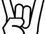 klavyede rock on işareti nasıl yapılır?
