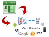 iphone da VCF dosyasını içe aktarma
