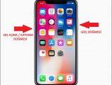 iphone X ve iphone 8 ekran görüntüsü nasıl alınır?