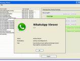 WhatsApp msgstore.db dosyasını görüntüleme