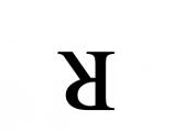 Klavyede döndürülmüş R Harfi { ᴚ } nasıl yazılır?