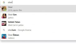 Chrome aram çubuğunda görüntülü arama sonuçlarını kapatma