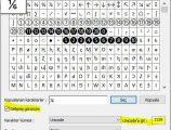 Klavyede 1 bölü 6 { ⅙ } işareti nasıl yapılır