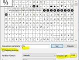 Klavyede 0 bölü 3 { ↉ } işareti nasıl yapılır